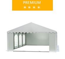 Namiot imprezowy 5x8m, PCV biały, premium