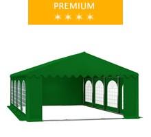 Namiot imprezowy 5x8m, PCV zielony, premium