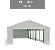 Party tent 5x12 m, white, PE classic