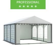 Namiot imprezowy 5x6m, PCV biało-szary, professional