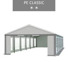 Namiot imprezowy 6x12m, biało-szary, PE classic