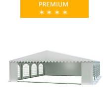 Namiot imprezowy 8x8m, PCV biały, premium