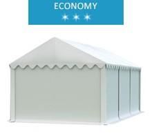 Namiot magazynowy 3x6m, PCV biały, economy