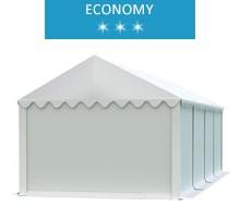 Namiot magazynowy 4x8m, PCV biały, economy