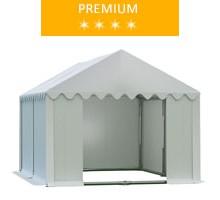 Namiot magazynowy 3x4m,  PCV biały, premium