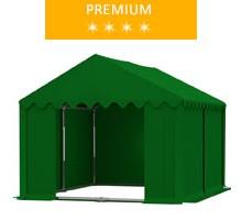 Namiot magazynowy 3x4m, PCV zielony, premium