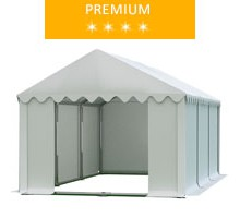 Namiot magazynowy 3x6m, PCV biały, premium