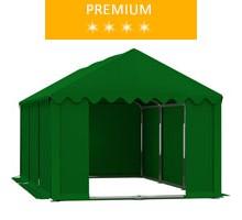 Namiot magazynowy 3x6m, PCV zielony, premium