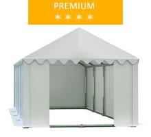 Namiot magazynowy 4x8m, PCV biały, premium