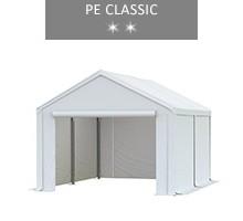 Namiot magazynowy 3x4m, biały, PE classic