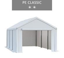 Namiot magazynowy 3x6m, biały, PE classic