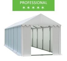 Namiot magazynowy 4x12m, PCV biały, professional