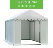 Namiot magazynowy 4x6m, PCV biały, professional