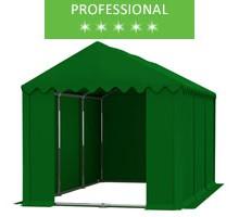 Namiot magazynowy 4x6m, PCV zielony, professional