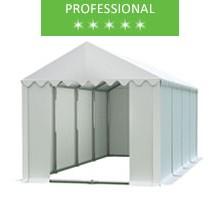 Namiot magazynowy 4x8m, PCV biały, professional