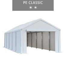 Namiot magazynowy 4x10m, biały, PE classic