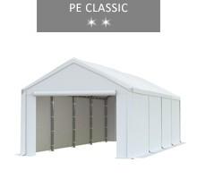 Namiot magazynowy 4x8m, biały, PE classic