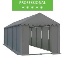 Namiot magazynowy 4x12m, PCV szary, professional