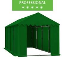 Namiot magazynowy 4x8m, PCV zielony, professional