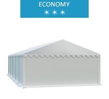 Namiot magazynowy 5x10m, PCV biały, economy