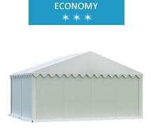 Namiot magazynowy 5x4m,  PCV biały, economy