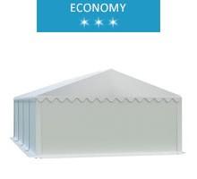 Namiot magazynowy 5x8m, PCV biały, economy