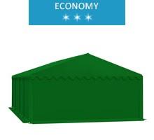 Namiot magazynowy 5x8m, PCV zielony, economy