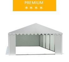 Namiot magazynowy 5x10m, PCV biały, premium