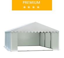 Namiot magazynowy 6x6m, PCV biały, premium
