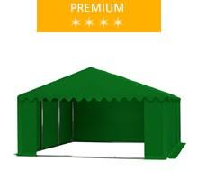 Namiot magazynowy 5x6m, PCV zielony, premium
