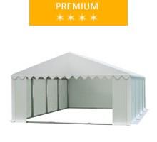 Namiot magazynowy 5x8m, PCV biały, premium