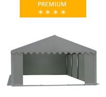 Namiot magazynowy 5x8m, PCV szary, premium