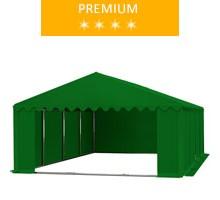 Namiot magazynowy 5x8m, PCV zielony, premium