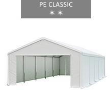 Namiot magazynowy 5x10m, biały, PE classic