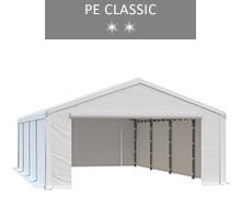 Namiot magazynowy 5x8m, biały, PE classic