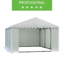 Namiot magazynowy 5x6m, PCV biały, professional
