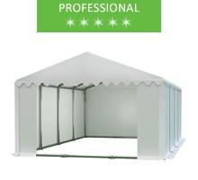Namiot magazynowy 6x8m, PCV biały, professional
