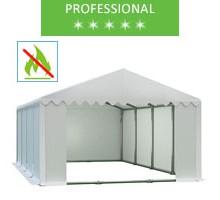 Namiot magazynowy 6x8m, PCV biały, professional, trudnopalny