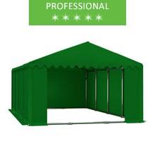 Namiot magazynowy 6x8m, PCV zielony, professional