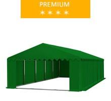 Namiot magazynowy 6x10m, PCV zielony premium