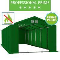 Namiot magazynowy 6x12m, PCV zielony, professional, prime plus