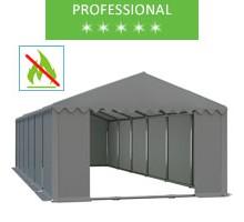 Namiot magazynowy 6x12m, PCV szary, professional, trudnopalny