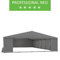Namiot magazynowy 8x12m, PCV szary, professional, neo