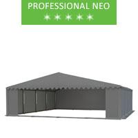 Namiot magazynowy 8x8m, PCV szary, professional, neo