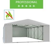 Namiot magazynowy 8x12m, PCV biały, professional, trudnopalny