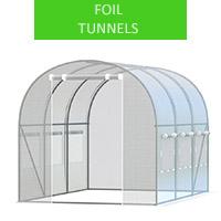 Foli tunel 2x3m, white
