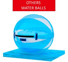 Water ball, white-blue, diameter 2m