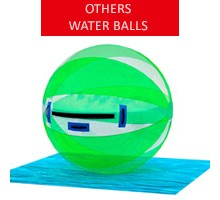 Water ball, white-green, diameter 2m