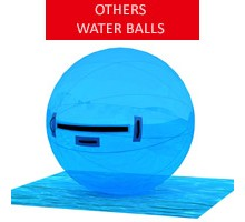Water ball, blue, diameter 2m