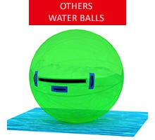 Water ball, green, diameter 2m